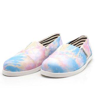 Alpargata Barth Shoes Nanda Estampa - Verde Palmas - 35