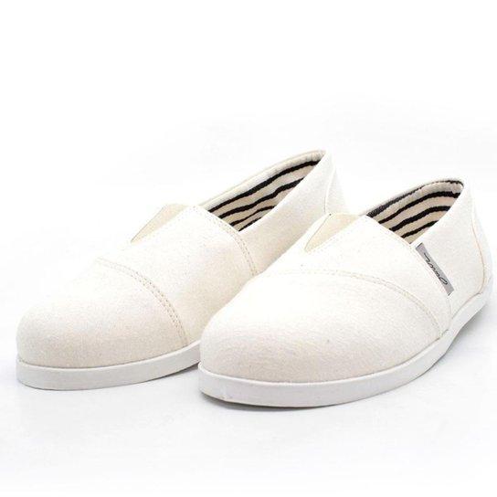 Alpargata Barth Shoes Nanda Lona Feminina - Off White