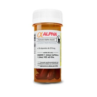 Alpha Axcell (30 caps) - Power Supplements
