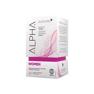 Alpha Women - 60 Cápsulas - Puravida