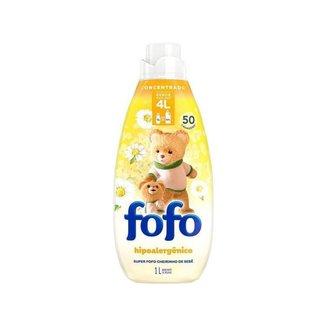 Amaciante Fofo Cheirinho de Bebê Concentrado 1L