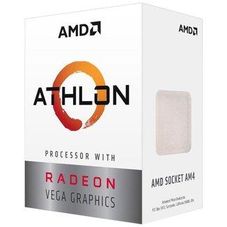 AMD Athlon 3000G Dual Core - 4 Threads - 3.5GHz - Cache 4MB - AM4 - TDP 35W - YD3000C6FHBOX