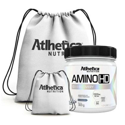 Amino Hd 10:1:1 300G + Mochila - Atlhetica Nutrition (Blueberry)