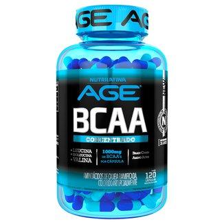 Aminoacid BCAA Age 1G 120 Cáps - Nutrilatina