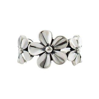 Anel Mayon Flowers em Modelo Ajustável