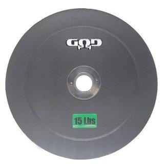Anilha Hi-Temp GOD - Bumper Plates - 21 R$/Kg