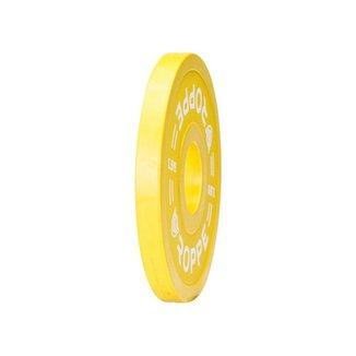 Anilha Olímpica Fracionada 1,5kg Amarelo Roppe