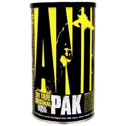 O Animal Pak 30 Paks - Universal Nutrition é composto por proteínas e vitaminas ideias para equilibrar a sua dieta. Acre...