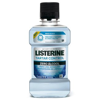 Antisséptico Bucal Listerine Tartar Control Zero Álcool 250ml
