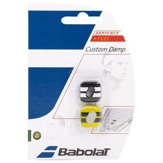 Antivibrador Babolat Custom Damp - Preto/Amarelo - Unissex Único