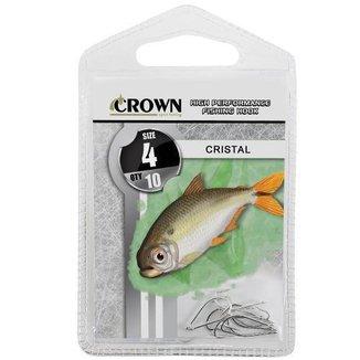 Anzol Crown Cristal Niquel N 04 Com 10 Uni