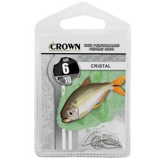 Anzol Crown Cristal Niquel N 06 Com 10 Uni
