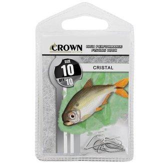 Anzol Crown Cristal Niquel N 10 Com 10 Uni