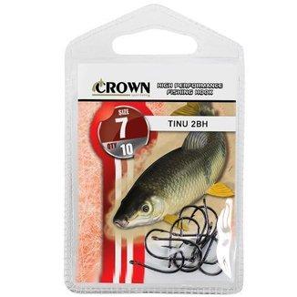 Anzol Crown Tinu 2-Bh Preto N 07 - 10 Uni