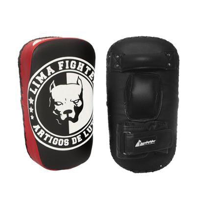 Aparador Soco Chute Reto Pitbull Lima Fighter Treino Luta - Unissex