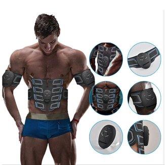Aparelho Gold Sports Total Shape Power ProII Estimulador Elétrica Muscular Abdômen Braços Pernas