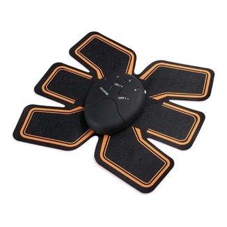 Aparelho Massageador Estimulador Abdominal Muscular Elétrico 6 Pack EMS Beauty Body