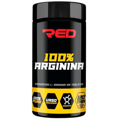 Arginina 100% Pura Red Series 120 Tabs