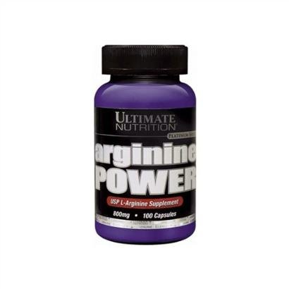 Arginine Power 800mg 100 Cápulas - Ultimate Nutrition - Unissex