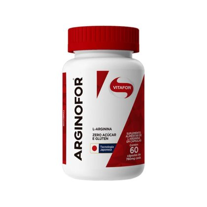 Arginofor 780mg (60 Cápsulas) - Vitafor