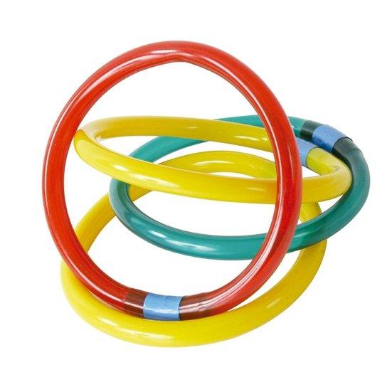 Argolas para Recreação Submersa em Piscina - Vermelho+Amarelo