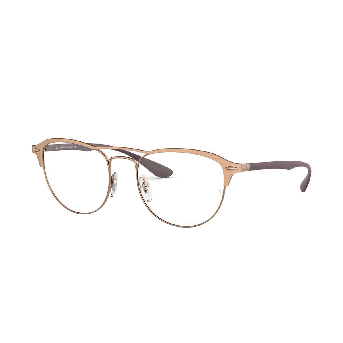 e86f7ab797a1a Armação de Óculos Ray-Ban RB3596 Feminina - Marrom - Compre Agora ...