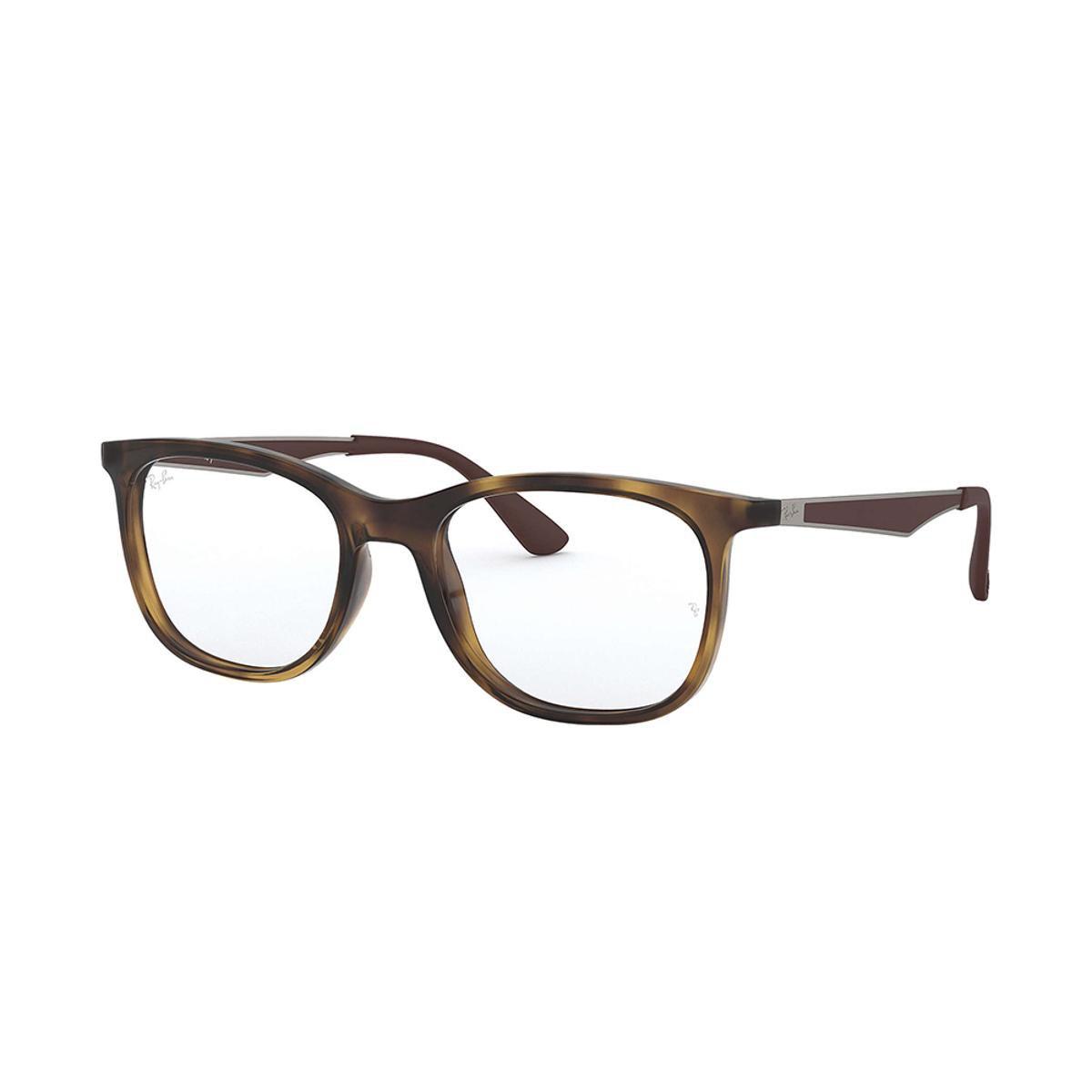 732d54039af99 Armação de Óculos Ray-Ban RB7078 Feminina - Marrom - Compre Agora ...