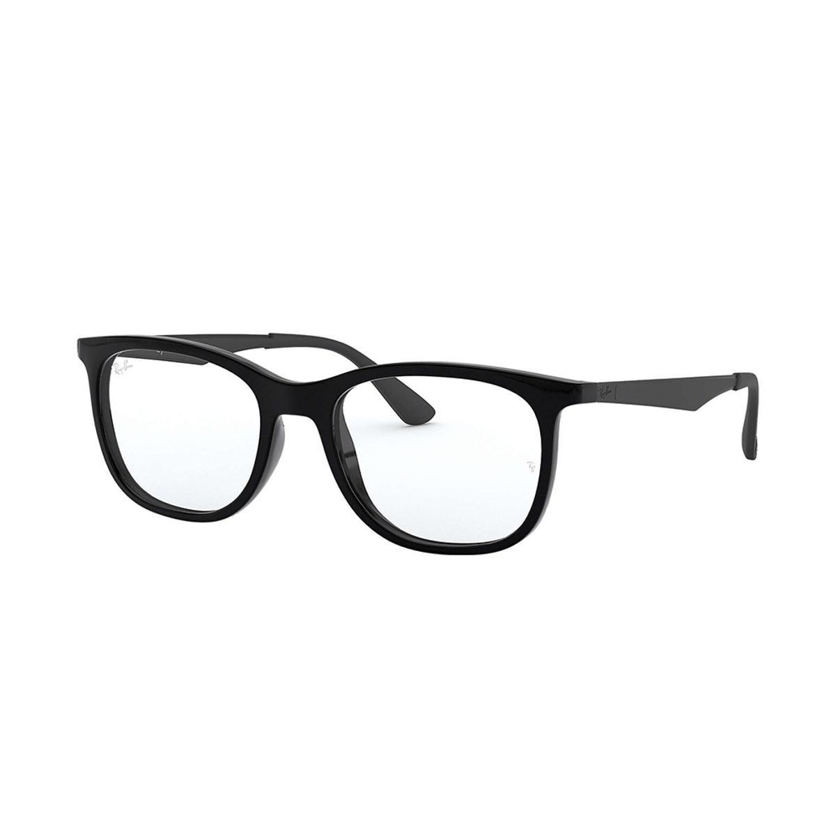a7ca33c07becb Armação de Óculos Ray-Ban RB7078 Masculina - Preto - Compre Agora ...