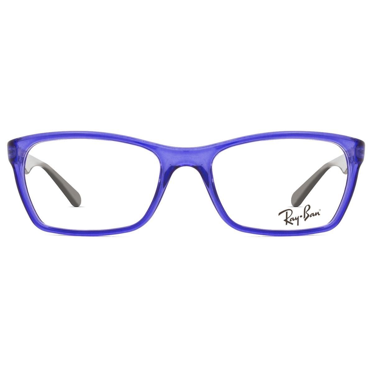 4fb3ff7f6 Armação Óculos de Grau Ray Ban RX7033L 5444-52 - Azul | Netshoes