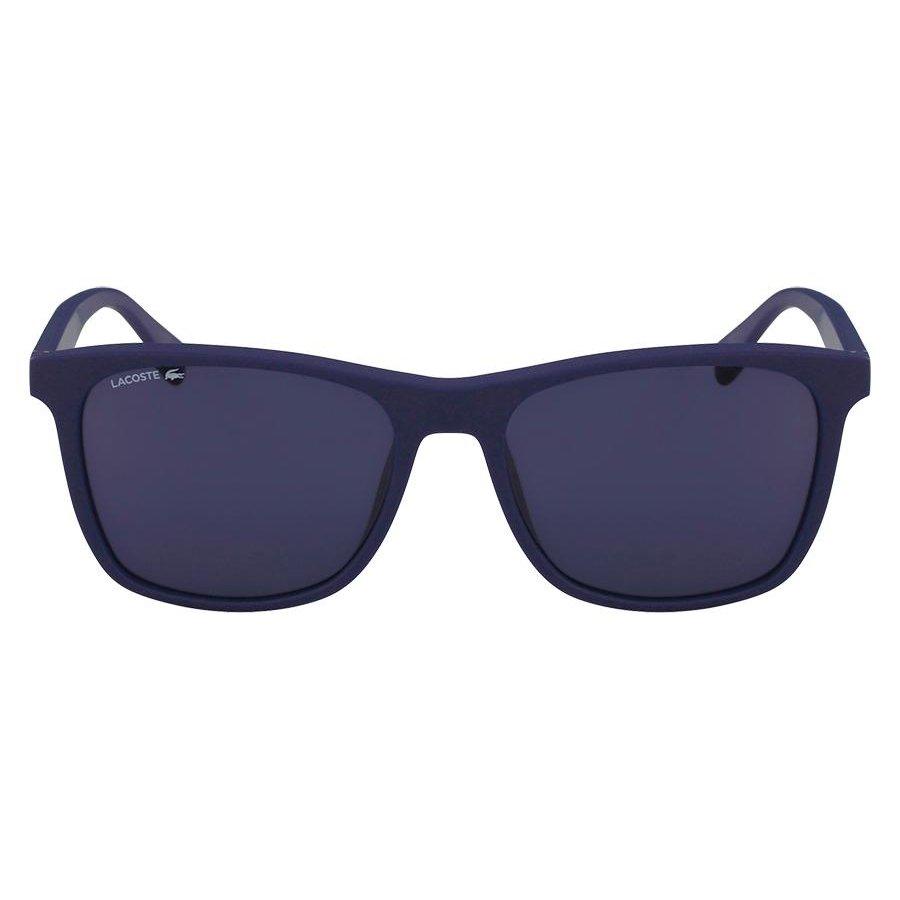 3ab8173f62b6c Armação Óculos de Sol Lacoste L860S 424 56 - Azul - Compre Agora ...