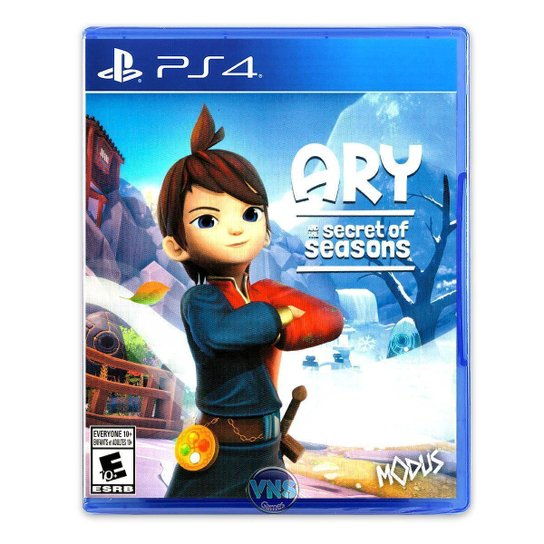 Ary and the Secret of Seasons - PS4 - Incolor