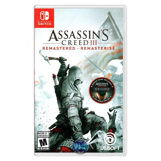 Assassin's Creed 3 III Remastered - Switch - Incolor