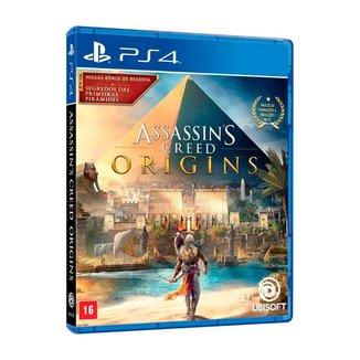 Assassin´s  Creed Origins Brazil Ps4