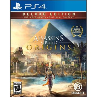 Assassin's Creed Origins - Deluxe Edition - Ps4