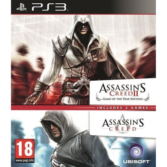 Assasssin's Creed 1 & 2 Compilation - PS3 - Incolor