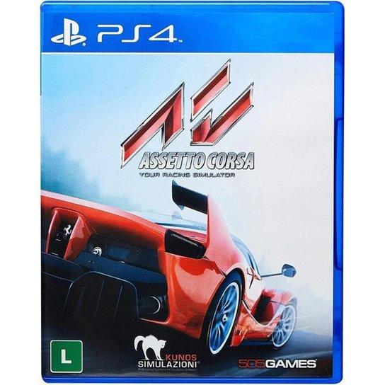 Assetto Corsa - PS4 - Incolor