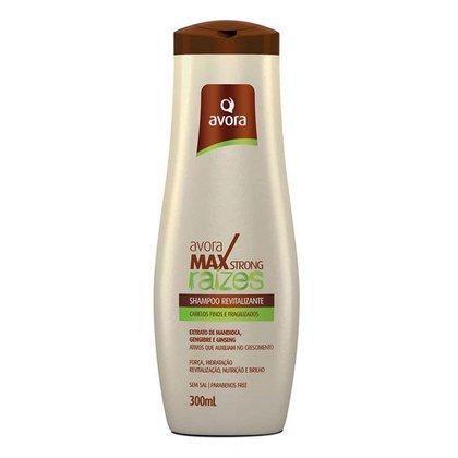 Avora Max Strong Raízes Shampoo Revitalizante 300ml