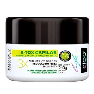 B-Tox Capilar Eico Life Tratamento 240g