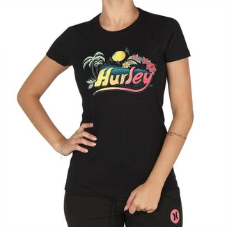 Baby Look Hurley Retro Beach Hurley