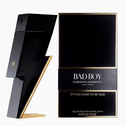 Perfume Bad Boy - Carolina Herrera - Eau de Toilette Carolina Herrera Masculino Eau de Toilette