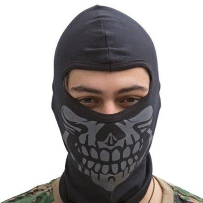 Balaclava Máscara Caveira Bravo