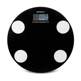 Balança Digital Eatsmart Preta - HC024 Multilaser