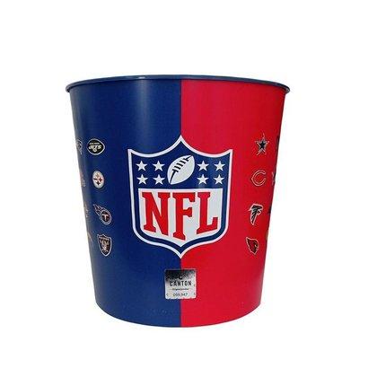 Balde de Pipoca Pipoqueira NFL Logos - NFL