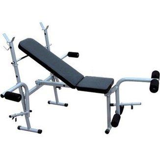 Banco de Supino 365 Estação de musculação aparelho ginastica - WCT Fitness