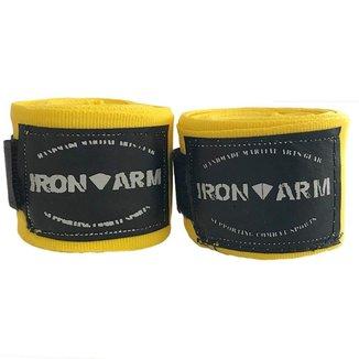 Bandagem Elástica 3mx50mm Amarela Iron Arm