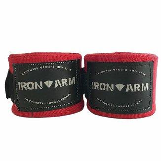 Bandagem Elástica 3mx50mm Vermelha Iron Arm