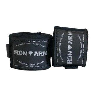Bandagem Elástica 5mx50mm Preta Iron Arm
