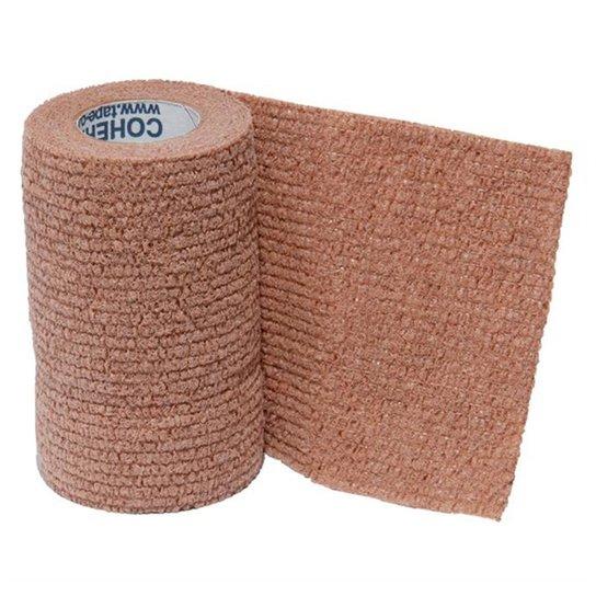 Bandagem Elástica Cohere - 4,5M X 10Cm - Bege