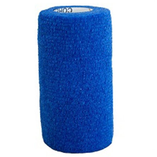 Bandagem Elástica Cohere - 4,5M X 10Cm - Azul