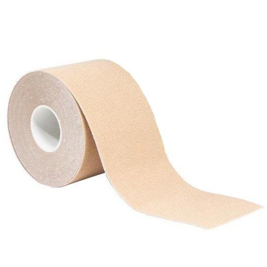 Bandagem Elástica Gold Sports Adesiva Neuromuscular - Bege